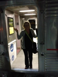 I travelled almost 4,000 miles by train in Fall 2012 to talk about Doris in Oregon, California, Arizona and New Mexico.